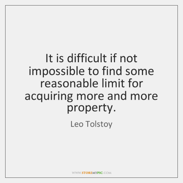 It is difficult if not impossible to find some reasonable limit for ...