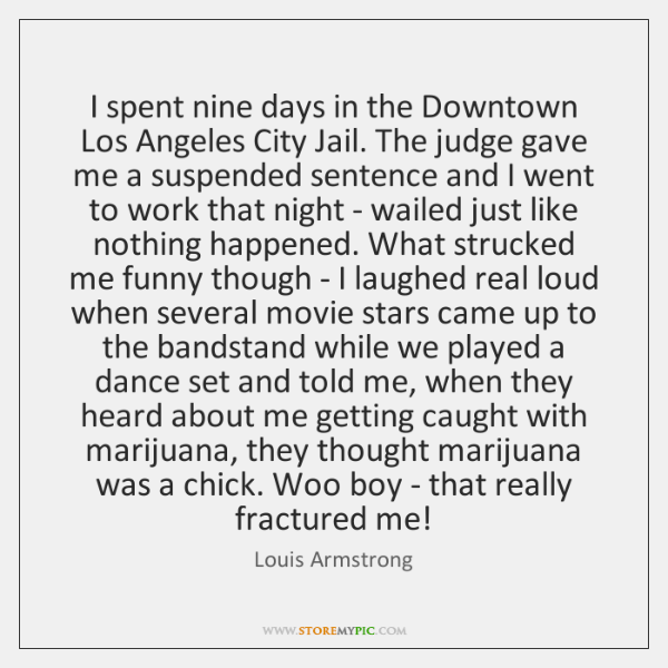 I spent nine days in the Downtown Los Angeles City Jail. The ...