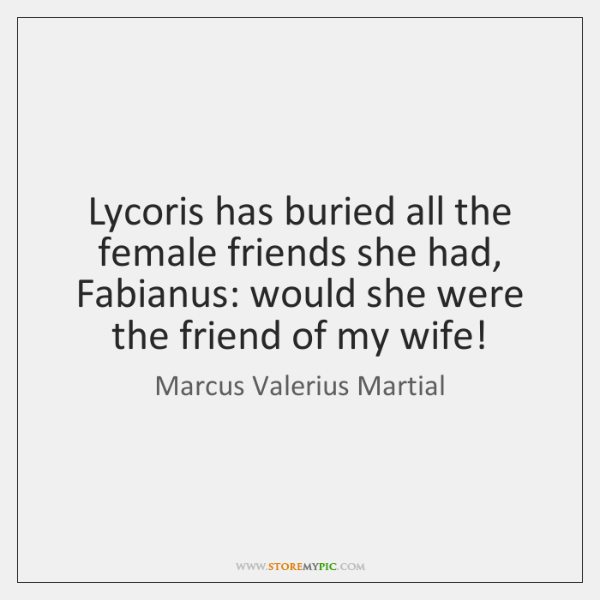 Lycoris has buried all the female friends she had, Fabianus: would she ...