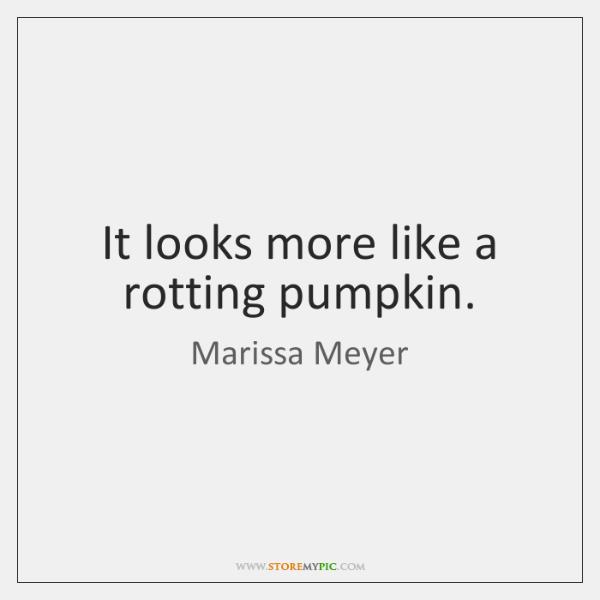 It looks more like a rotting pumpkin.