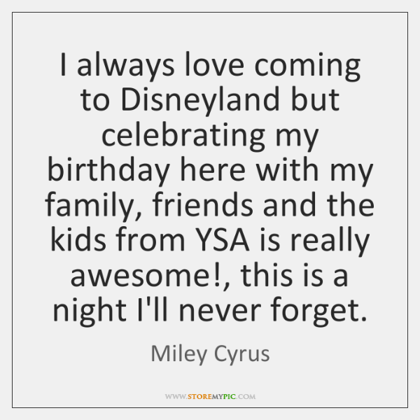 I always love coming to Disneyland but celebrating my birthday here with ...