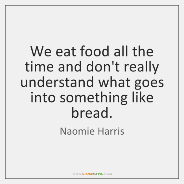 We eat food all the time and don't really understand what goes ...