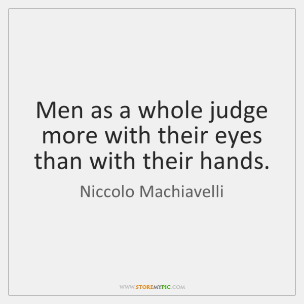 Men as a whole judge more with their eyes than with their ...