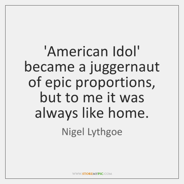 'American Idol' became a juggernaut of epic proportions, but to me it ...