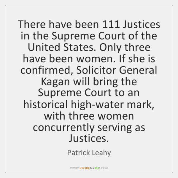 There have been 111 Justices in the Supreme Court of the United States. ...