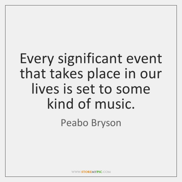 Every significant event that takes place in our lives is set to ...