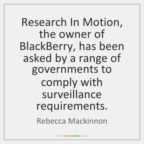 Research In Motion, the owner of BlackBerry, has been asked by a ...