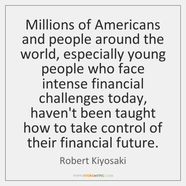 Millions of Americans and people around the world, especially young people who ...