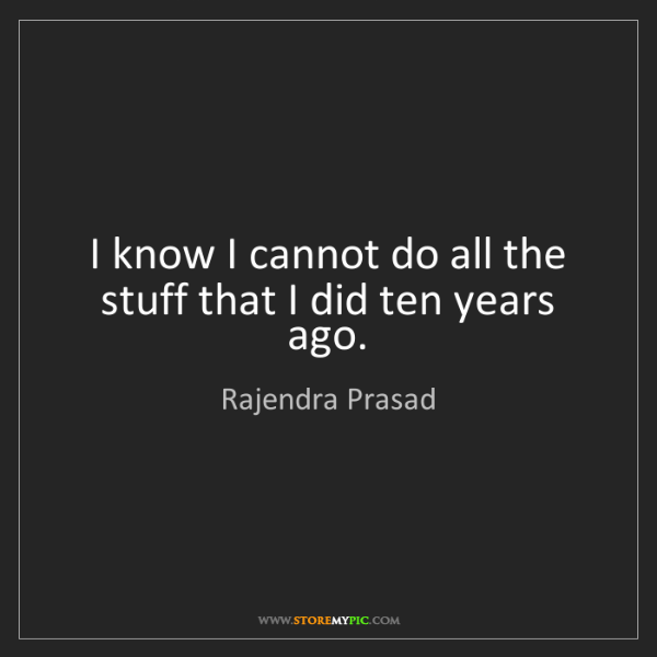 Rajendra Prasad: I know I cannot do all the stuff that I did ten years...