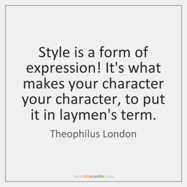 Style is a form of expression! It's what makes your character your ...