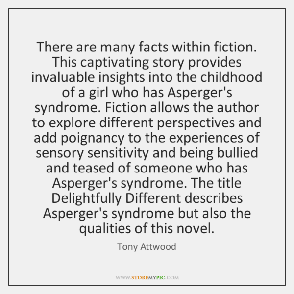 There are many facts within fiction. This captivating story provides invaluable insights ...