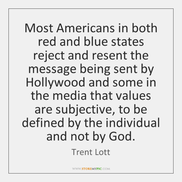 Most Americans in both red and blue states reject and resent the ...