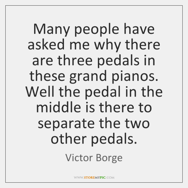 Many people have asked me why there are three pedals in these ...