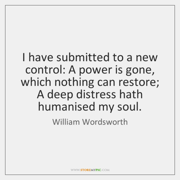 I have submitted to a new control: A power is gone, which ...