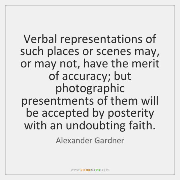 Verbal representations of such places or scenes may, or may not, have ...