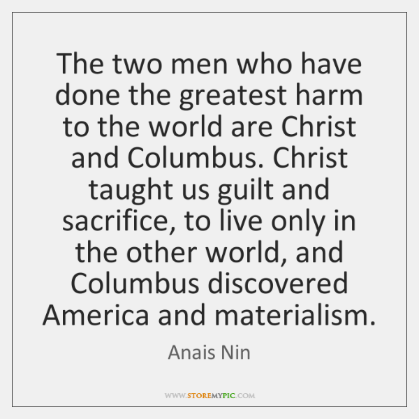 The two men who have done the greatest harm to the world ...