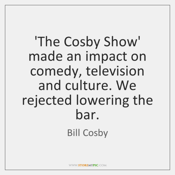 'The Cosby Show' made an impact on comedy, television and culture. We ...