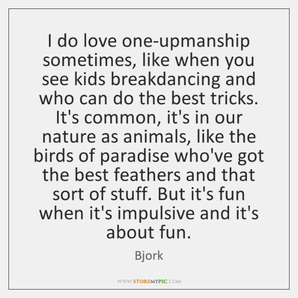 Loveupmanship