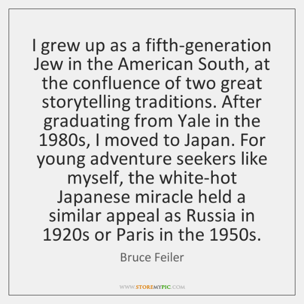 I grew up as a fifth-generation Jew in the American South, at ...