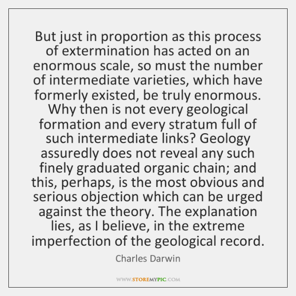 But just in proportion as this process of extermination has acted on ...