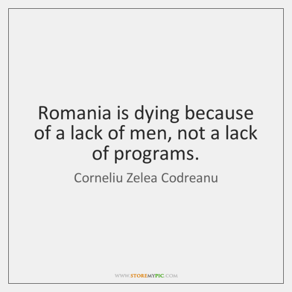 Romania is dying because of a lack of men, not a lack ...