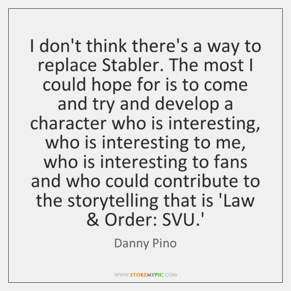 I don't think there's a way to replace Stabler. The most I ...