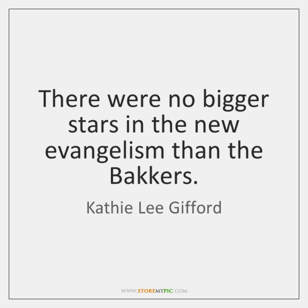 There were no bigger stars in the new evangelism than the Bakkers.