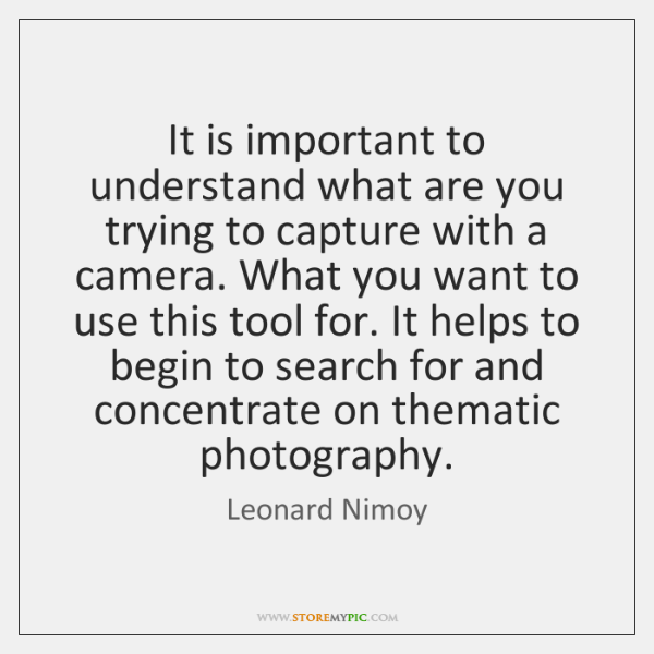 It is important to understand what are you trying to capture with ...