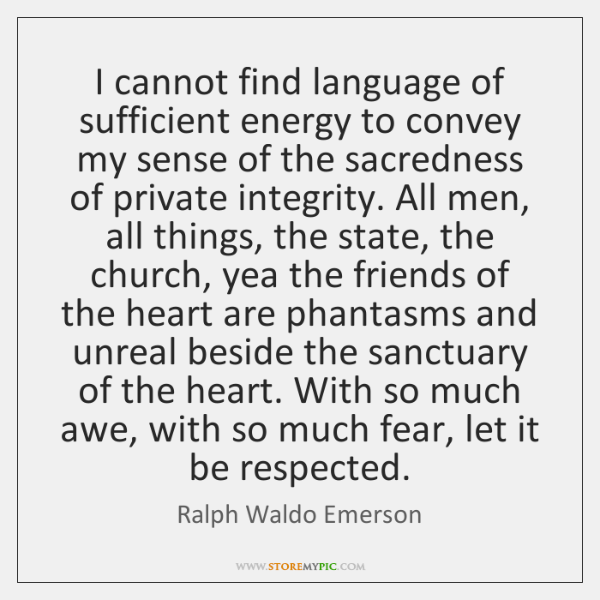 I cannot find language of sufficient energy to convey my sense of ...