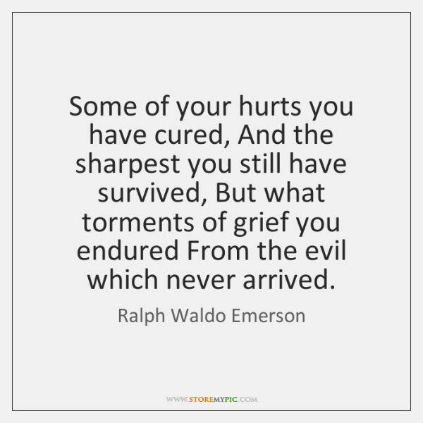 Some of your hurts you have cured, And the sharpest you still ...