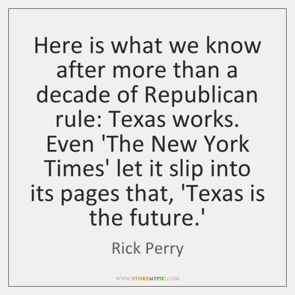 Here is what we know after more than a decade of Republican ...