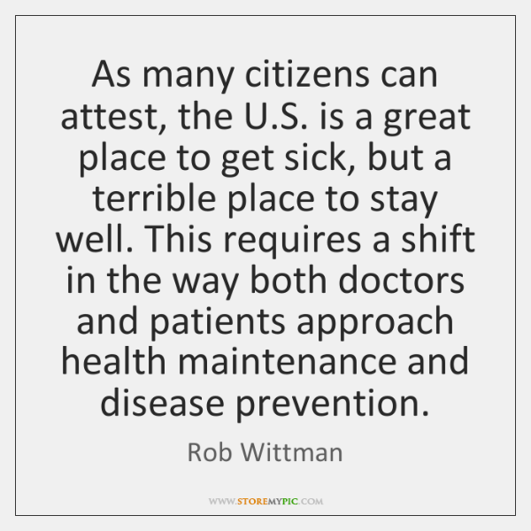 As many citizens can attest, the U.S. is a great place ...