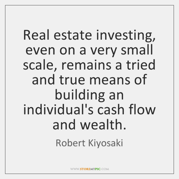 Real estate investing, even on a very small scale, remains a tried ...