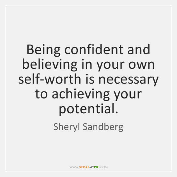 Being Confident Quotes