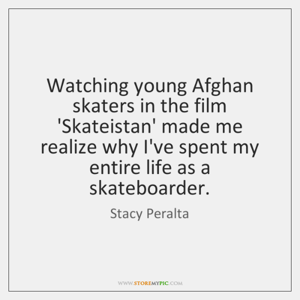 Watching young Afghan skaters in the film 'Skateistan' made me realize why ...
