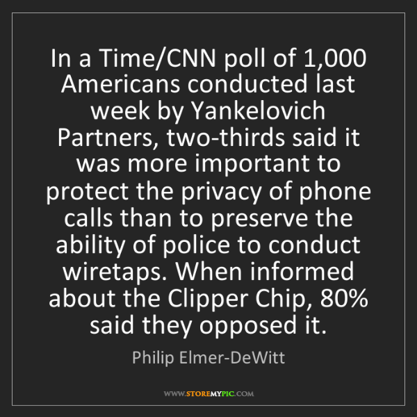 Philip Elmer-DeWitt: In a Time/CNN poll of 1,000 Americans conducted last...