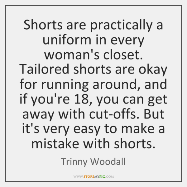 Shorts are practically a uniform in every woman's closet. Tailored shorts are ...