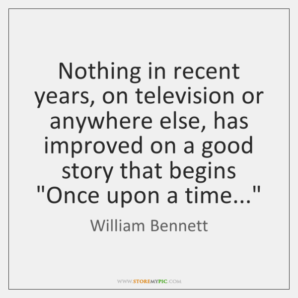 Nothing in recent years, on television or anywhere else, has improved on ...