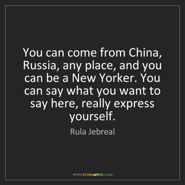 Rula Jebreal: You can come from China, Russia, any place, and you can...