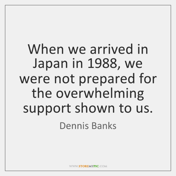When we arrived in Japan in 1988, we were not prepared for the ...