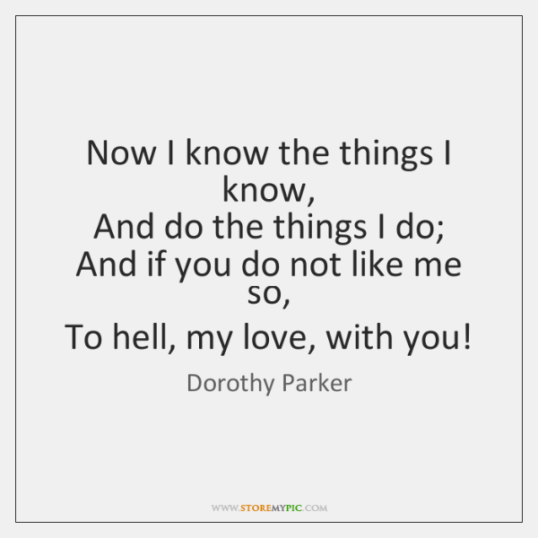 Dorothy Parker Quotes StoreMyPic Impressive Dorothy Parker Quotes