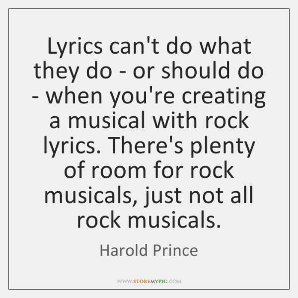 Lyrics can't do what they do - or should do - when ...