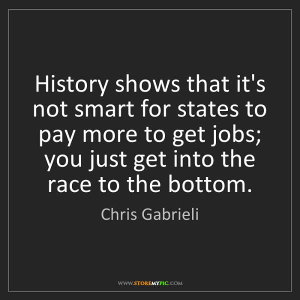 Chris Gabrieli: History shows that it's not smart for states to pay more...