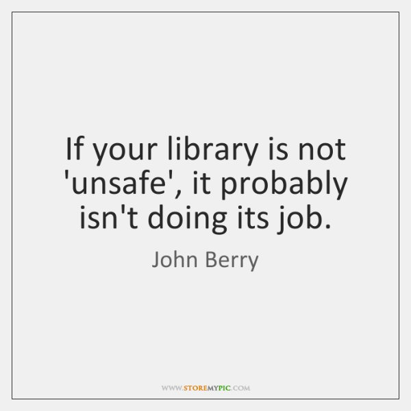 If your library is not 'unsafe', it probably isn't doing its job.