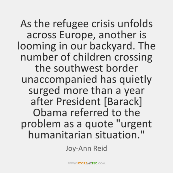 As the refugee crisis unfolds across Europe, another is looming in our ...
