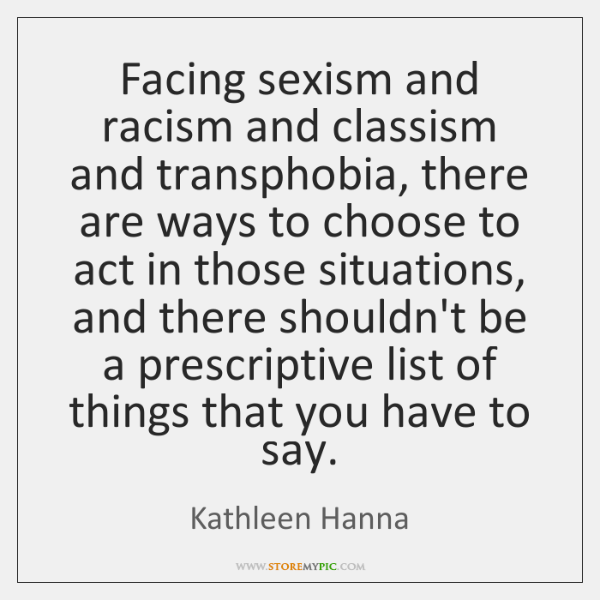 a report on the issues of racism and classism For more on the links between rave and climate change, see the environmental support center's report: take the whole issue of racism very lightly.