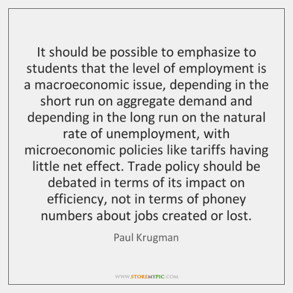 It should be possible to emphasize to students that the level of ...