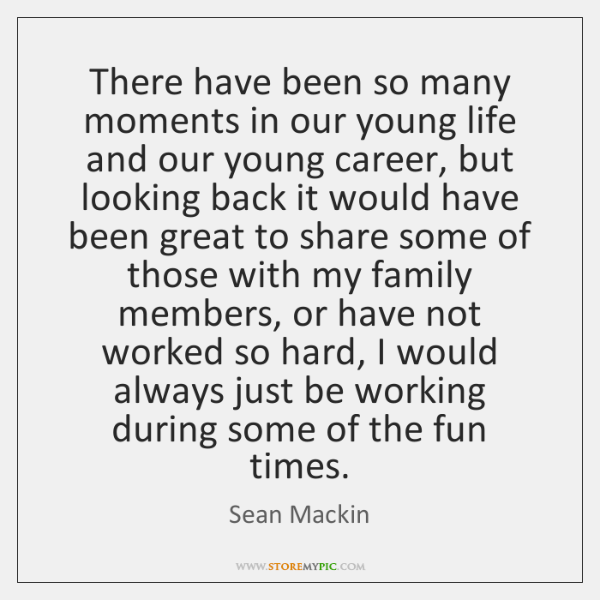 There have been so many moments in our young life and our ...