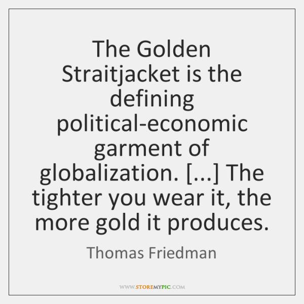 golden straitjacket