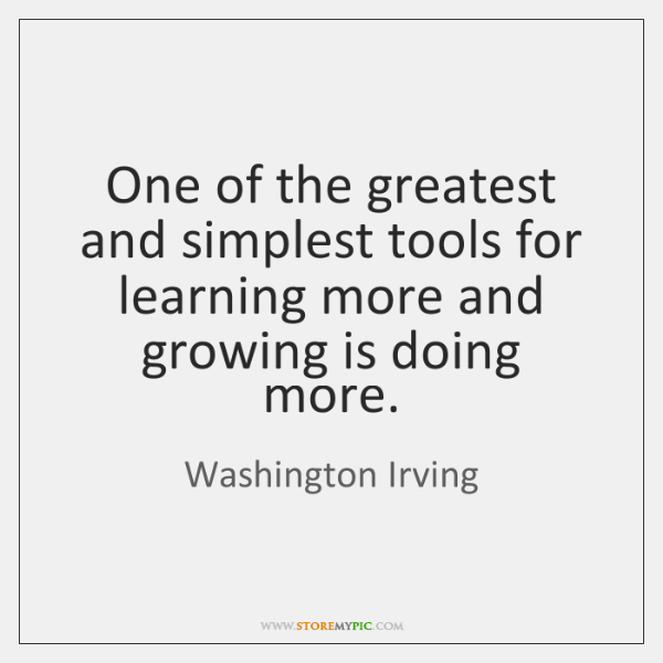 One of the greatest and simplest tools for learning more and growing ...